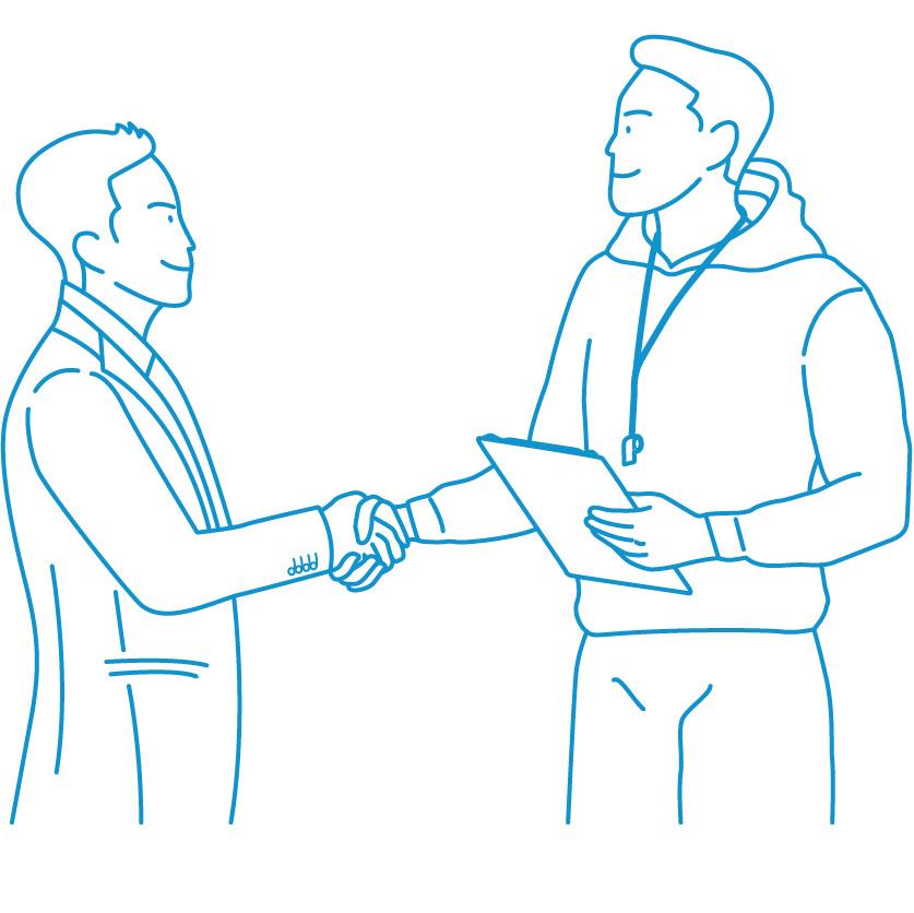 Trainer Top Illustration